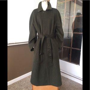 Gorgeous Vintage Burberry Wool Coat